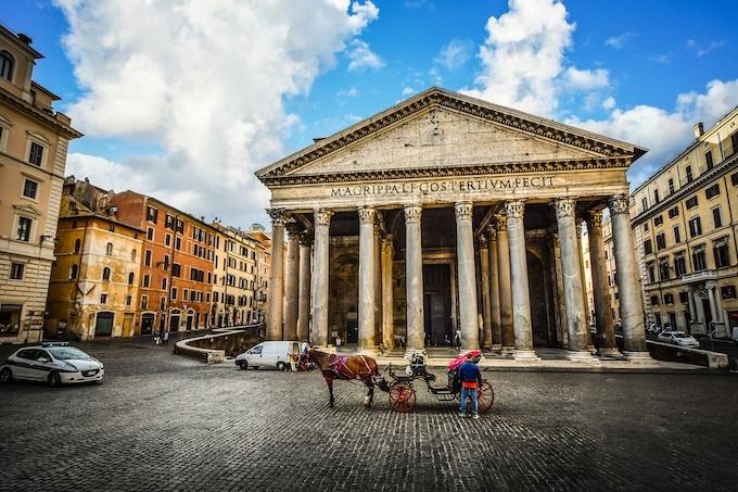 Piazze e Fontane & Roma Antica